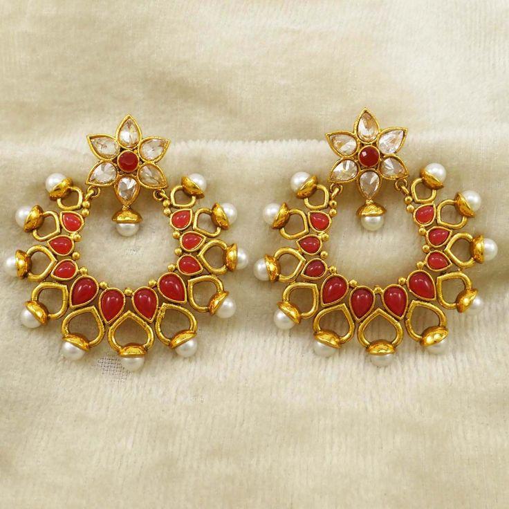 CZ Dangle #Earrings