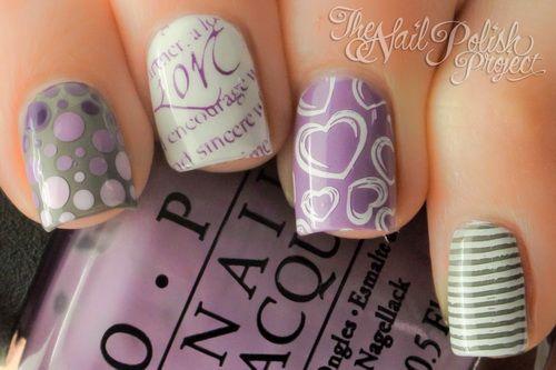 cute short nail designs 2014