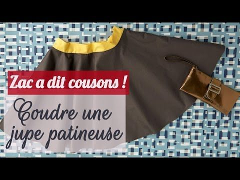 VIDEO Comment faire une jupe patineuse - Tuto/DIY couture - YouTube