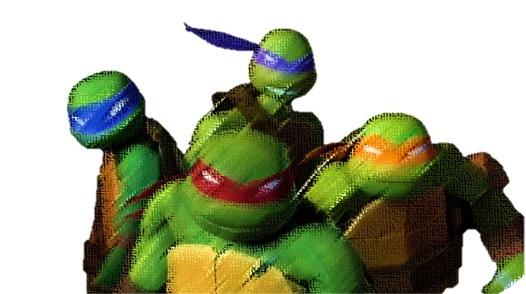 ninja turtles art
