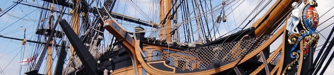 Real pirate ship that was actually used in battle - restored and open for tours in the UK!