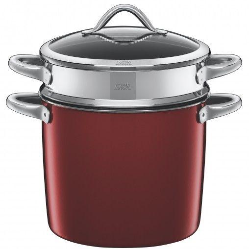 #Töpfe / Pfannen #Silit #21.3127.4971   Silit Vitaliano Rosso 24 cm  Rot Keramik Gas Halogen Induktion     Hier klicken, um weiterzulesen.