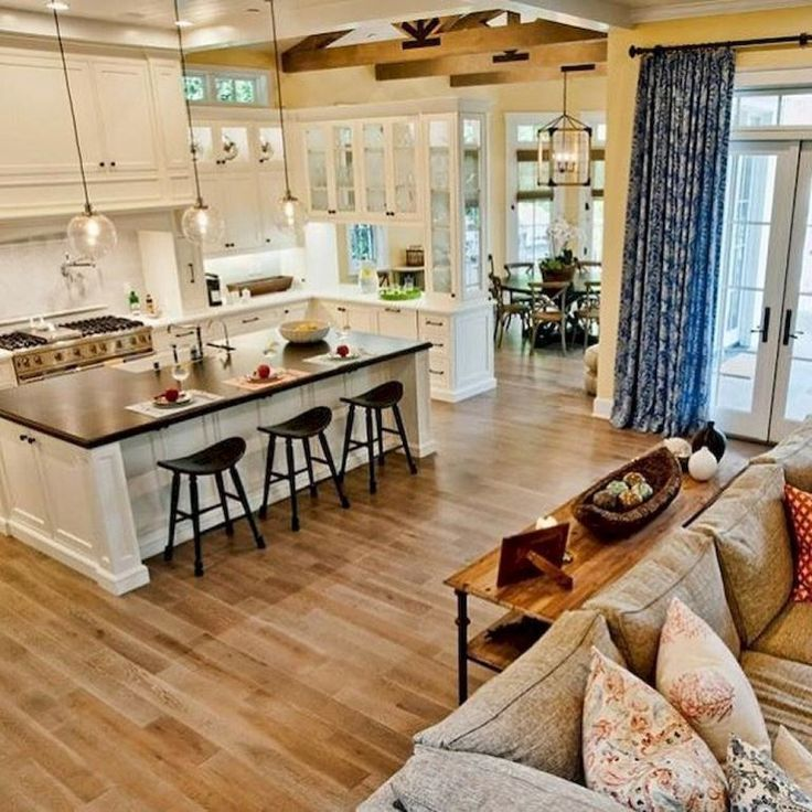 Best Open Kitchen Living And Dining Concepts Perfect For