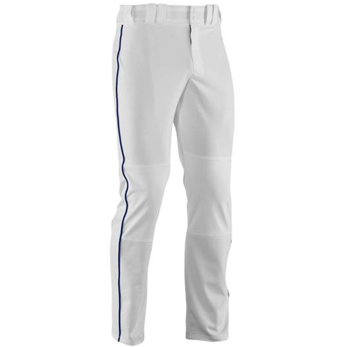 Under Armour Youth Leadoff II Piped Baseball Pant - White/Navy