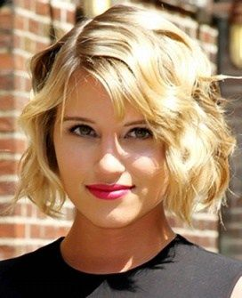 Tendance : Tresse 2017 : Dianna Agron Rocks New Bob Haircut