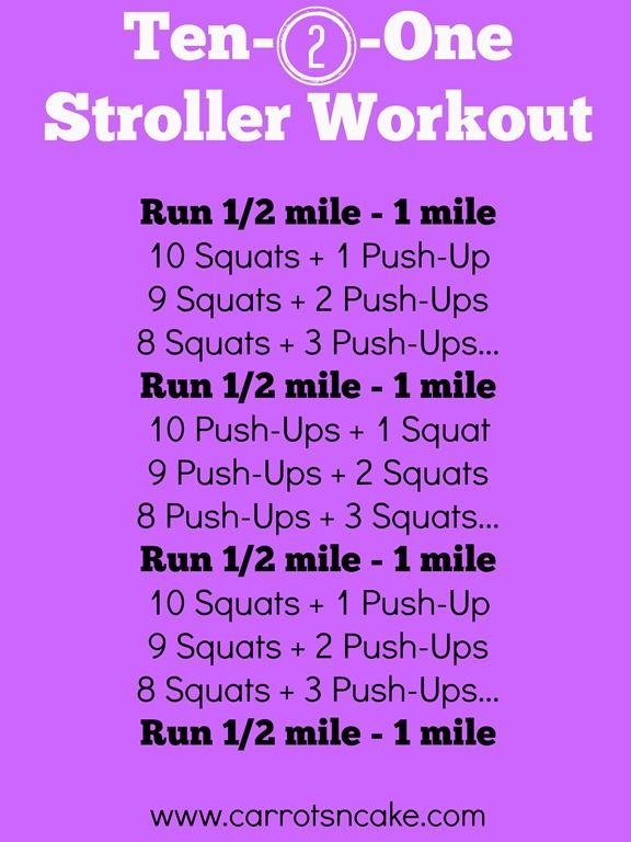 Ten-2-One Stroller Workout