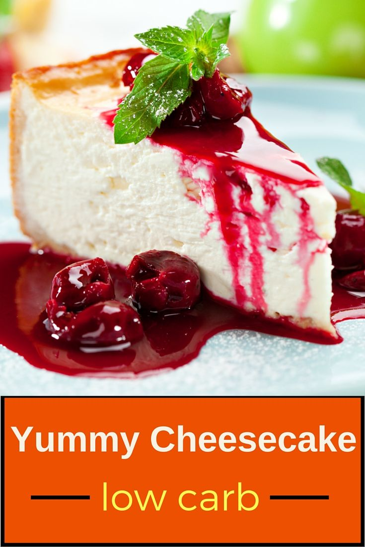 Looking for low carb dessert recipes? Here's a YUMMY low carb cheesecake recipe…
