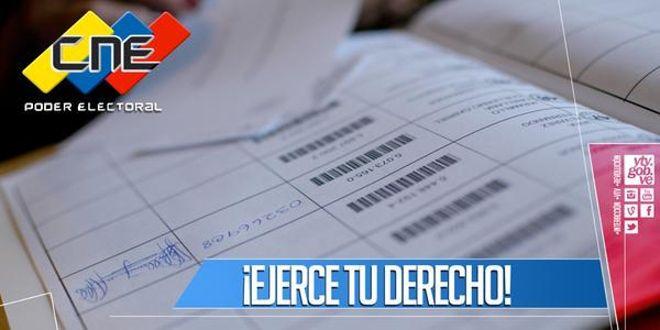 Registro Electoral cierra inscripción y actualización de datos este miércoles