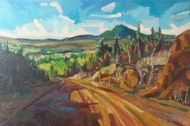 Landscape of New-Brunswick ,