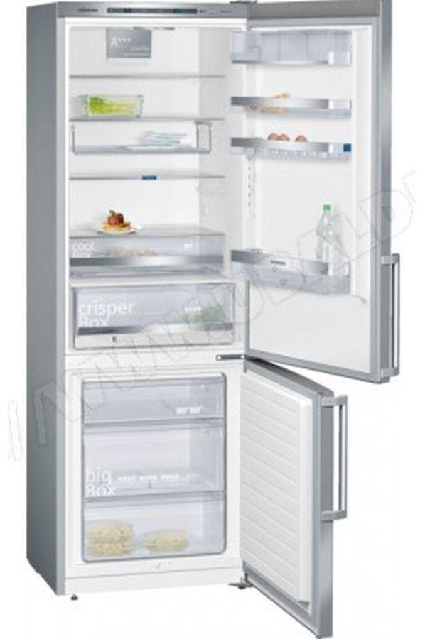 Refrigerateur congelateur en bas Siemens KG 49 EBI 40 INOX