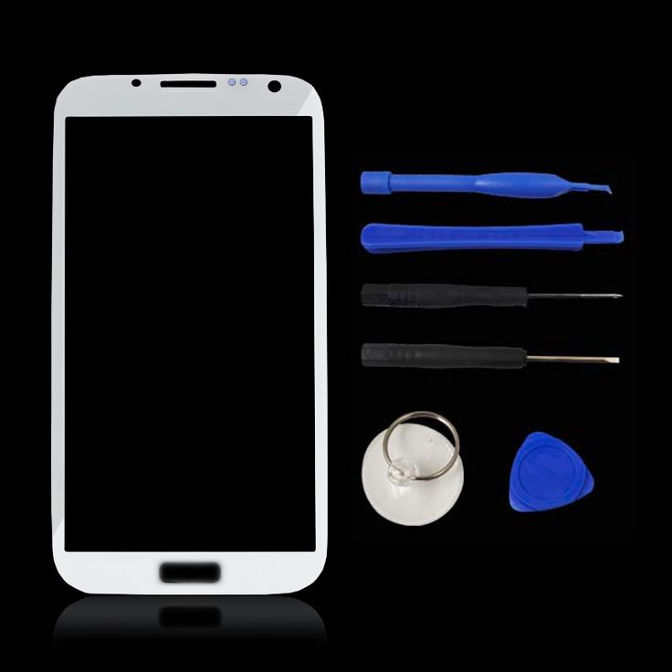 For Samsung Galaxy Note 2 II N7100 N7102 N7105 Front Touch Screen Glass Outer Lens Replacement (No Digitizer LCD) Panel Logo