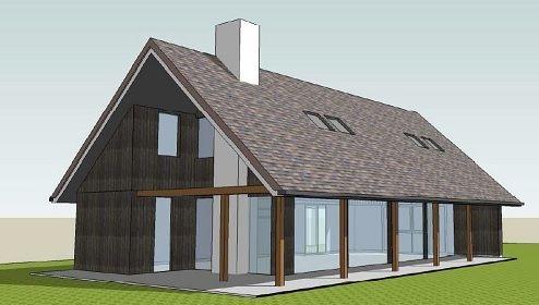 Schuurwoningen worden meestal ontworpen zonder aanbouwsels. Een garage of terras wordt geïntegreerd in de hoofdvorm, wanneer dit mogelijk is. Dit zorgt onder andere voor de herkenbare schuurvorm met een streekeigen uitstraling.