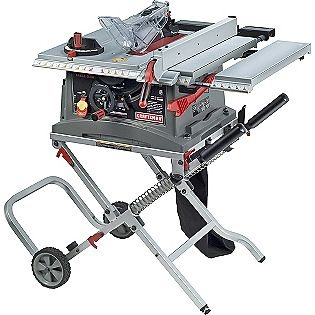 """Gotta have it!    10"""" Jobsite Table Saw with Folding Stand (28463)- Craftsman"""