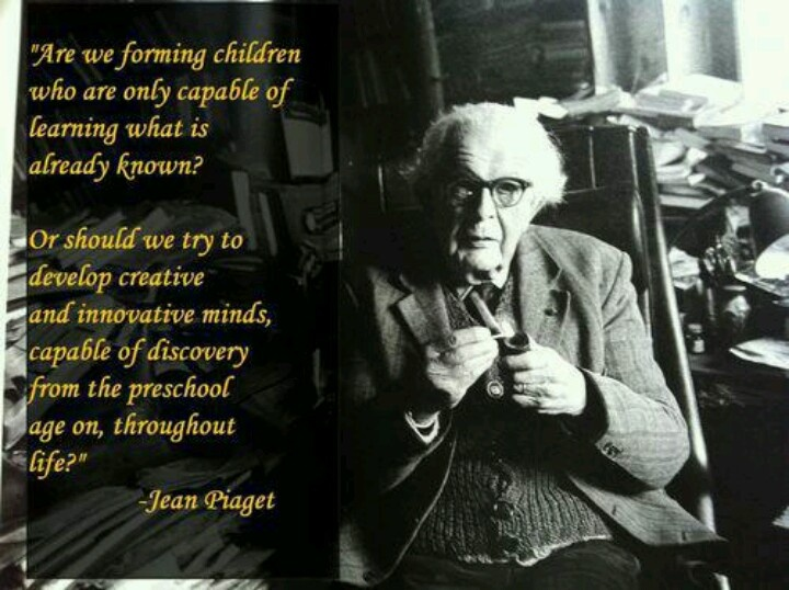 the main ideas of jean piaget s Harry beilin described jean piaget's theoretical research program a main figure whose ideas contradicted piaget's ideas was the russian psychologist lev vygotsky.