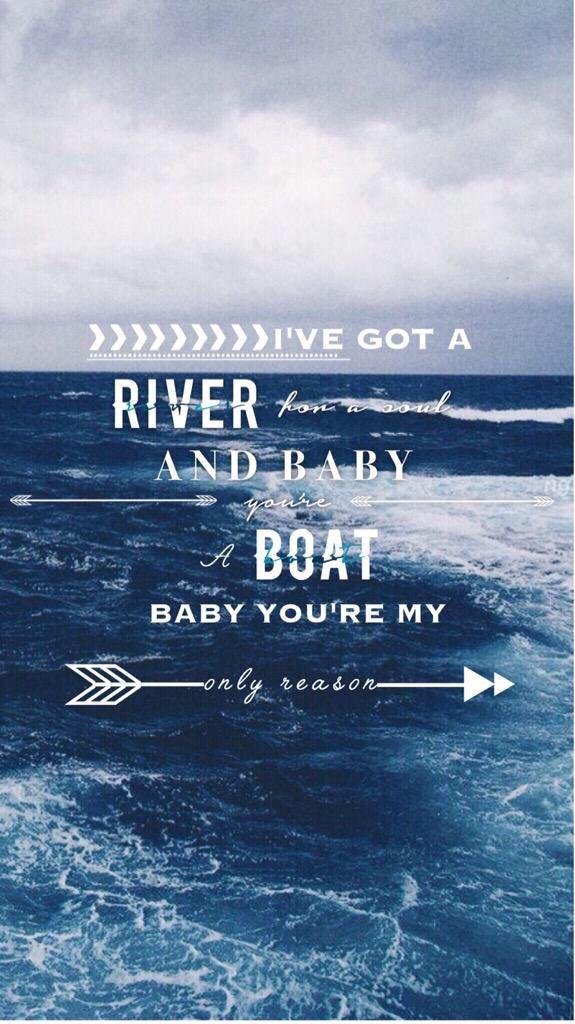 Hahahahahahha and baby you're a boat