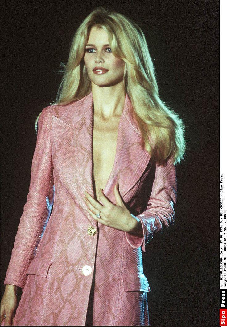 Versace Fall 1994 Claudia Schiffer