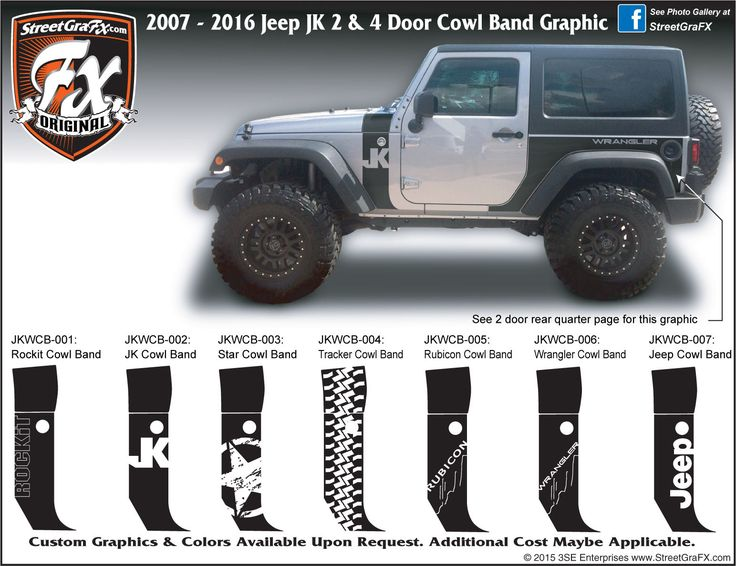 Best Jeep Images On Pinterest Jeep Truck Jeep Jk And Jeep Mods - Custom windo decals for jeepsjeep hood decals and stickers custom and replica jeep decals now