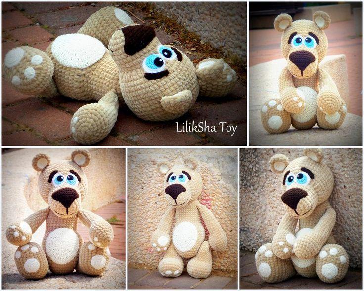 F-R-E-E Video Tutorials וידאו הדרכות חינם ****************************** How to sew the Eyes of Amigurumi Teddy Bear. סרטון המראה איך תופרים בשיטה נכונה ויפה את העיניים https://youtu.be/mVhbLWJqEoU