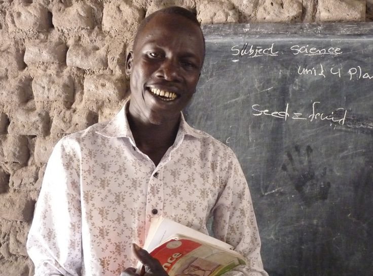 Classroom Teacher - From TEAR's Useful Gifts: The original way to buy a goat and other poverty-fighting gifts. #usefulgifts #charity #donate #aid #education @tearaustralia