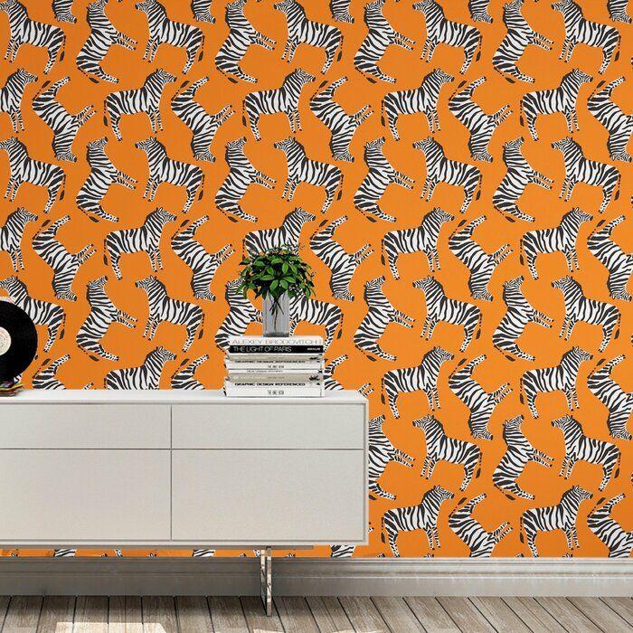 Lefebre Wrought Studio Peel and Stick Wallpaper Panel
