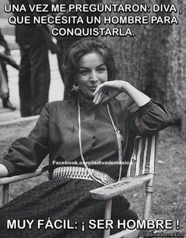 Maria Félix.
