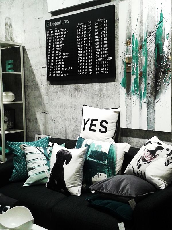 http://interiorsdesignblog.com/pearls-of-ambiete-2014/ ambiente / trends 2014 / eightmood / scandinavian style / black white grey