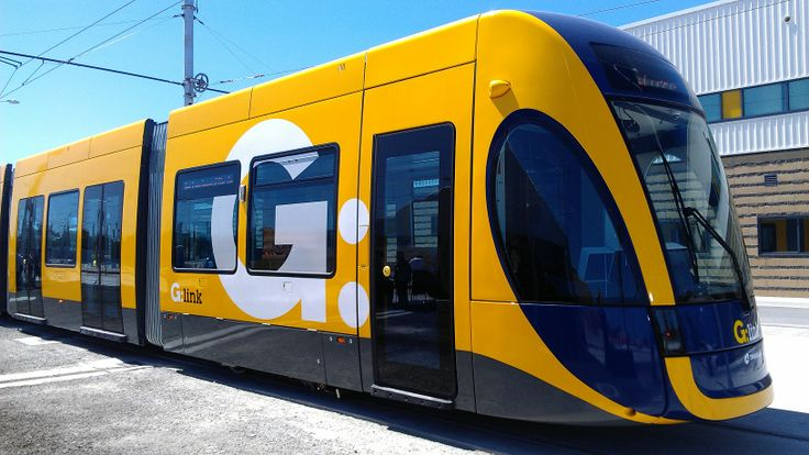 The new G;Link light rail car to be launched this year!