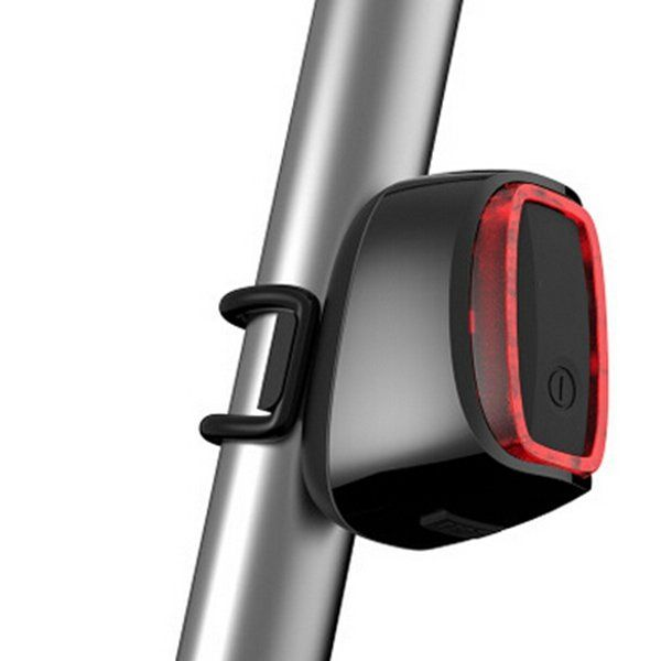 USB Smart Rechargeable Bike Light Vibration Sensor IPX6 Waterproof Bicycle Taillight 7 Light Modes Sale - Banggood.com