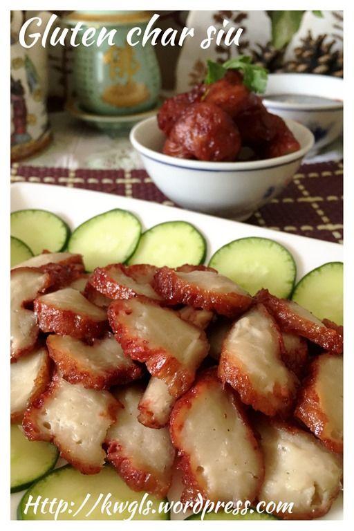 Gluten Vegetarian Char Siu (素叉烧)  Recipe:   http://wp.me/p3u8jH-7p2   Facebook page: https://www.facebook.com/GuaishushusPage  中文食谱供参考:     http://translate.google.com/translate?hl=en&sl=auto&tl=zh-CN&u=http%3A%2F%2Fwp.me%2Fp3u8jH-7p2&sandbox=1         #guaishushu #kenneth_goh      #vegetarian_char_siu  #素叉烧