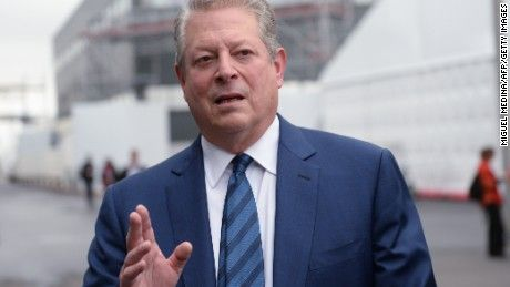Former Vice President Al Gore endorsed Hillary Clinton on Monday, the opening day of the Democratic National Convention in Philadelphia.