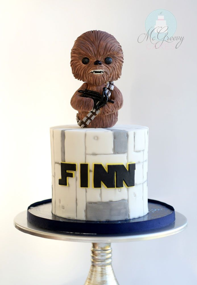 How to Chewbacca and star wars cake by Mcgreevy cakes.