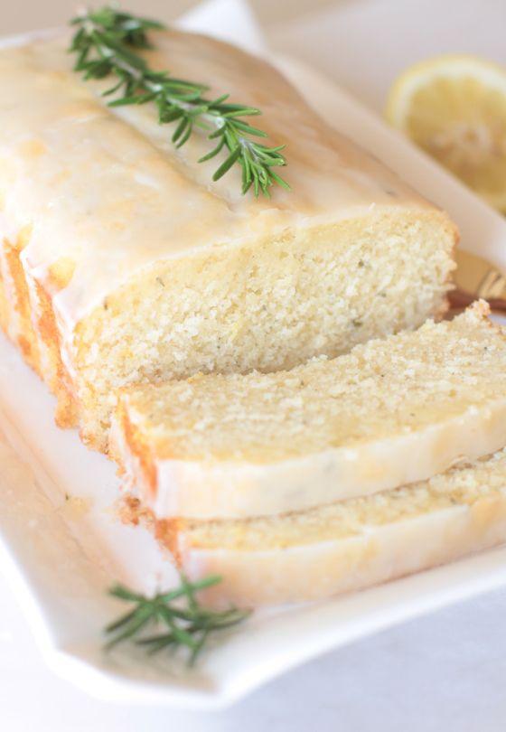 Lemon Rosemary Yogurt Cake - Adorned With Love