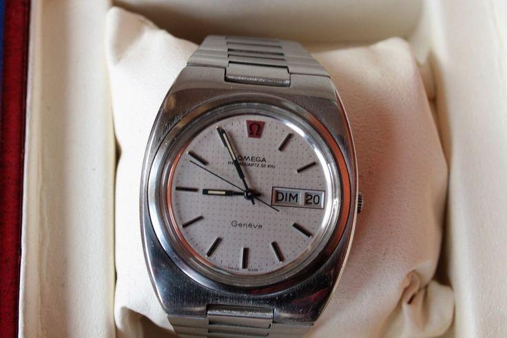 Omega Geneve Megaquartz 32 Khz, men's watch, 1974-79