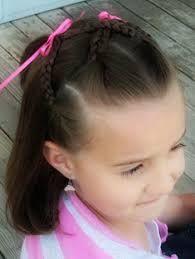 Resultado de imagen para peinados faciles para la escuela con trenzas