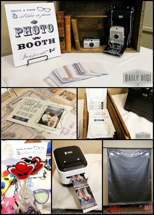 DIY Photo Booth for a Wedding or Special Occasion