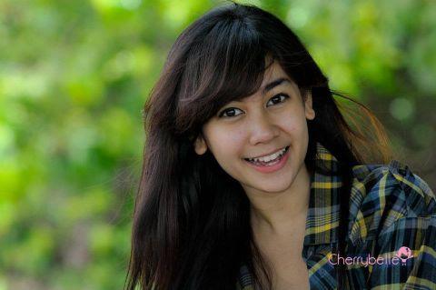 Anisa Rahma cantik tanpa makeup tebal