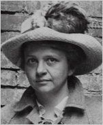 Frances Perkins, a social worker, was the first woman to be appointed to the cabinet of a U.S. President. As President Franklin D. Roosevelt's Secretary of Labor, Perkins drafted much of the New Deal legislation in the 1940s.