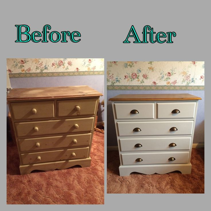 Pine Chest of Drawers Makeover | Paintobsessed                                                                                                                                                                                 More