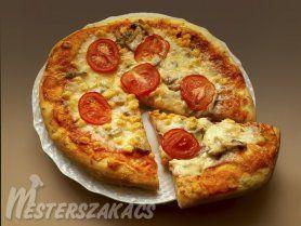 Eredeti olasz pizza recept