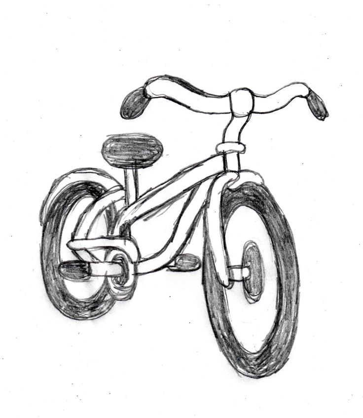 bicycle drawing tutorial httpdrawingmanualscommanualhow to