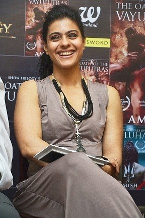 Kajol Devgan at The Launch of The Book of The Oath of The Vayuputras.