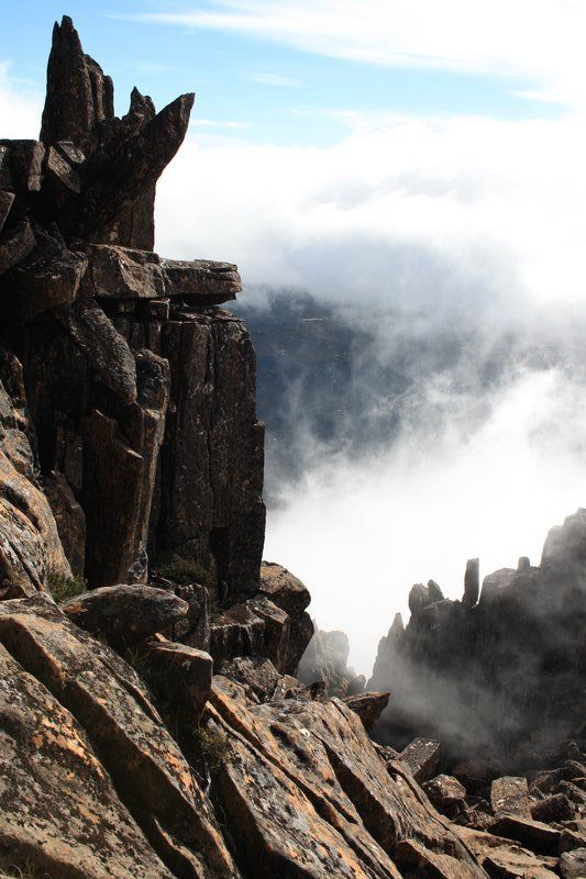 Tasmania - Climbing Cradle Mountain