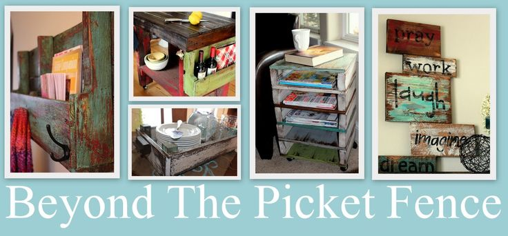 Beyond The Picket Fence: Paintings Techniques, Picket Fences, Pallets Idea, Pallets Benches, Diy'S Projects, Woods Projects, Pallet Ideas, Pallets Projects, 2X4 Projects