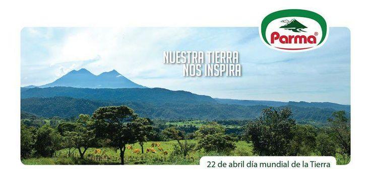 Día de la tierra, nuestra tierra nos inspira.  Cliente: Parma 2014