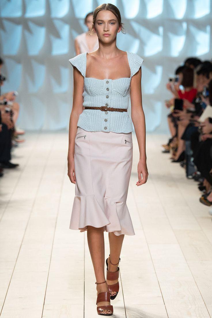 Nina Ricci Spring 2015 Ready-to-Wear Fashion Show - Paulina King (Women)