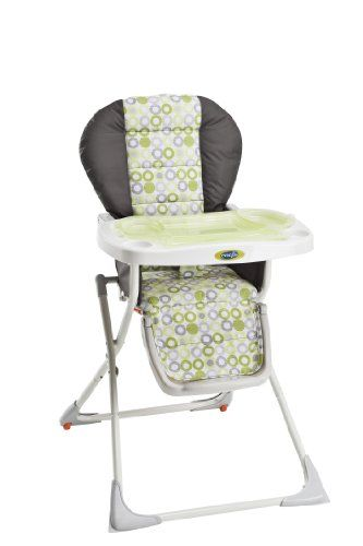Evenflo Snap High Chair, Mesa Green Lightweight, Compact, And Portable.  Compact Fold Makes It Easy To Store. Durable Frame For Support And  Stability. ...