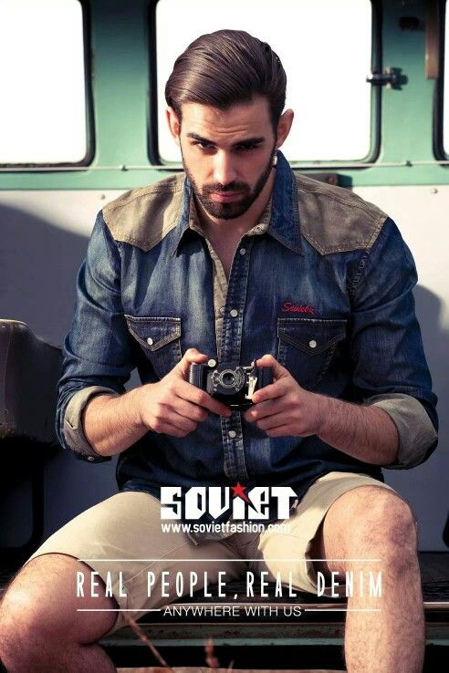 SOVIET DENIM SUMMER CAMPAIGN 2014/15 #CAMPAIGN #REALDENIM #REALPEOPLE #SUMMERCOLLECTION #SOVIETDENIM #ANYWHEREWITHUS #MENSWEAR #TRAVELING #BOSSMODELSJHB #FASHION #SOVIETFASHION #SEXYSUMMER #WARDROBE #DENIMONDENIM #MENSWEAR #FASHION4FELLAS #STYLE #SOVIETCOLLECTION #GQMagazine #GQstyle #grooming #beard #FreshFaces #styleicon #ReadyToWear #internationalmodel #GregsNicolson