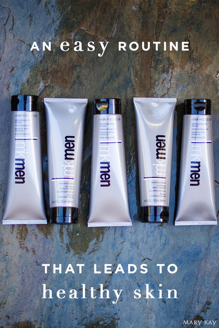 Wash away grit and grime while preparing skin for shaving. MKMen® Daily Face Wash is perfect for any man who prefers a face wash that is tough on dirt and oil while being gentle on skin! | Mary Kay