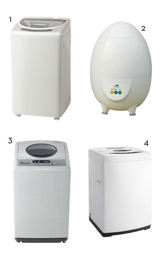 have you ever tried a portable washer plus 4 to consider