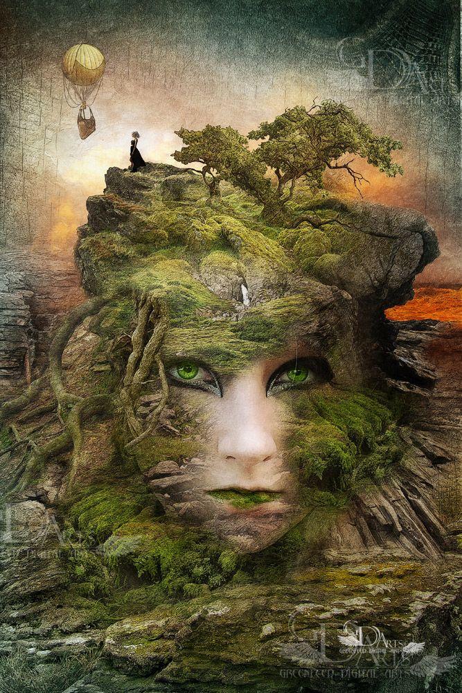Mother Nature By Greenfeed Deviantart Com On Deviantart